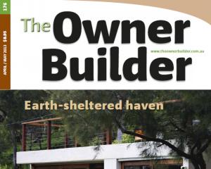 Owner Builder Magazine Cover April