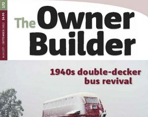 Owner Builder Magazine Cover Sep
