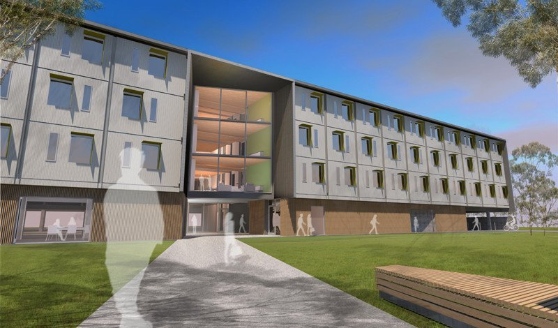 Modular student housing in tasmania etool lca for Modular homes with inlaw apartments