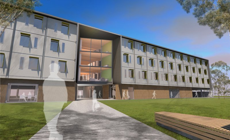 modular student housing in tasmania
