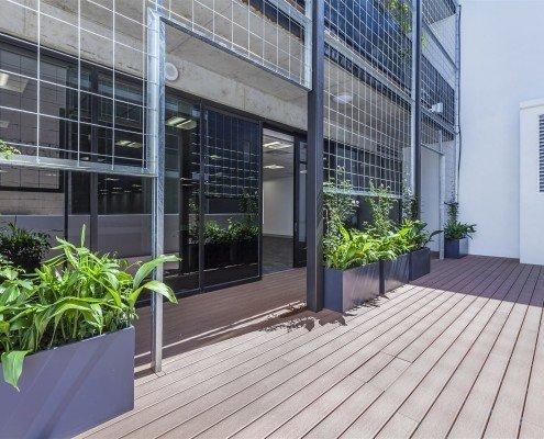 Floth Office Balcony, 69 Robertson Street