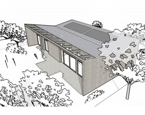 Social Weaver Display Home Sketch